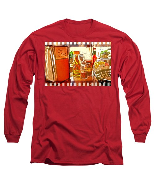 Breakfast At Paul's Long Sleeve T-Shirt