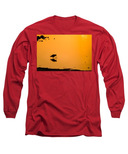 Breakfast Long Sleeve T-Shirt by Craig Szymanski