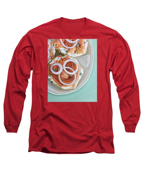 Breakfast Delight Long Sleeve T-Shirt by Nathan Rhoads