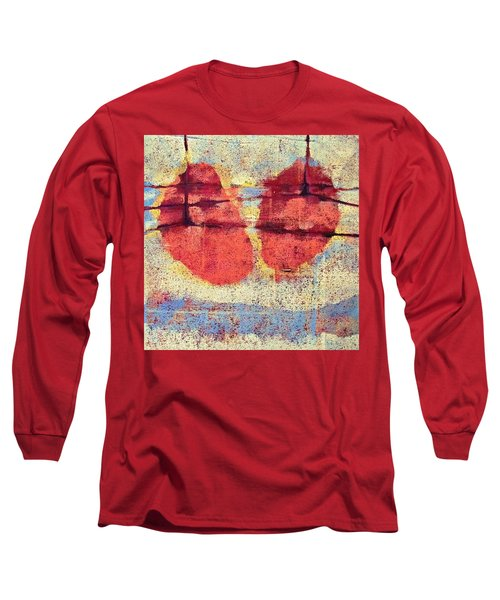 Breathe Long Sleeve T-Shirt by Maria Huntley