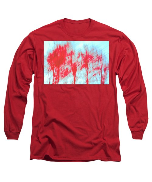 Long Sleeve T-Shirt featuring the photograph Breezy Moment by Ari Salmela