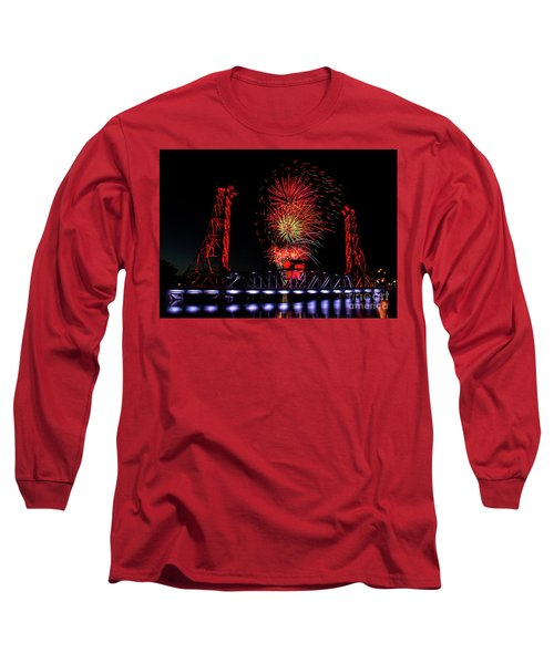Long Sleeve T-Shirt featuring the photograph Bridge 13 In Welland by JT Lewis