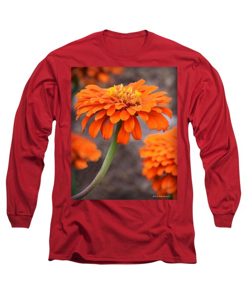 Bright And Beautiful Long Sleeve T-Shirt by Kathy M Krause