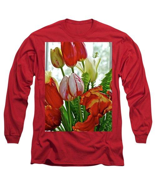 Bright Bouquet Long Sleeve T-Shirt