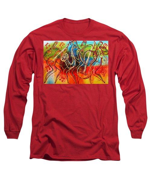 Bright Jazz Long Sleeve T-Shirt