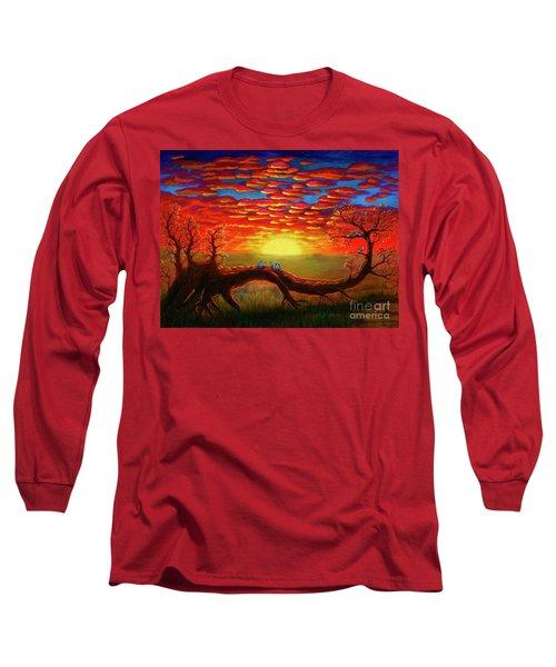 Bright Sunset Long Sleeve T-Shirt
