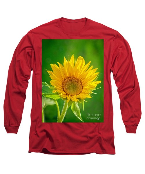 Bright Yellow Sunflower Long Sleeve T-Shirt