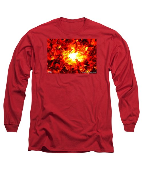 Brighter Than The Sun Long Sleeve T-Shirt by Holley Jacobs