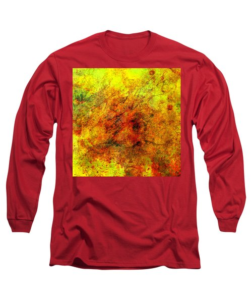 Broken Long Sleeve T-Shirt by Ally  White