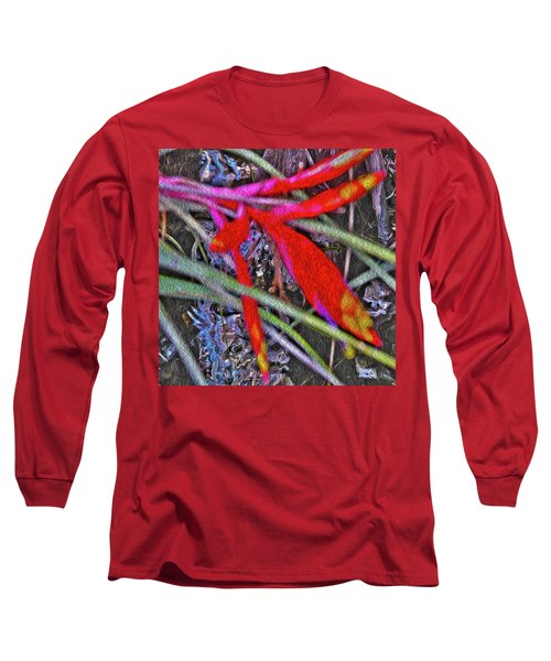 Bromeliad In The Cathedral Long Sleeve T-Shirt