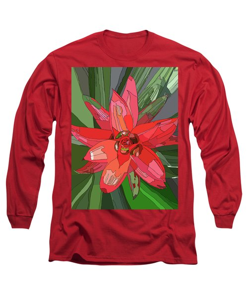 Bromiliad Long Sleeve T-Shirt by Jamie Downs