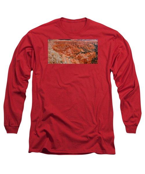 Bryce Canyon Megapixels Long Sleeve T-Shirt by Raymond Salani III