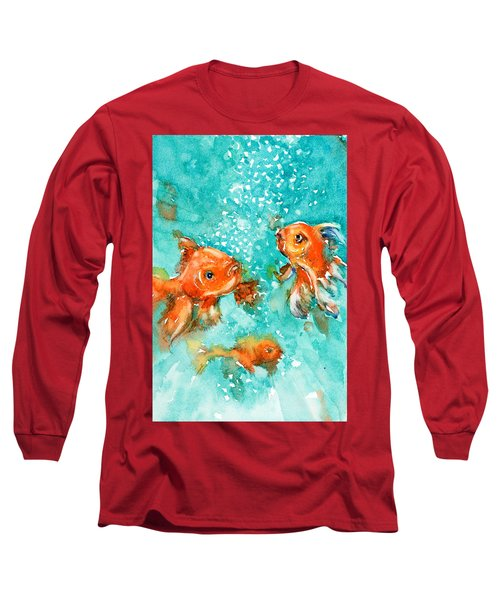 Bubbles Long Sleeve T-Shirt by Judith Levins