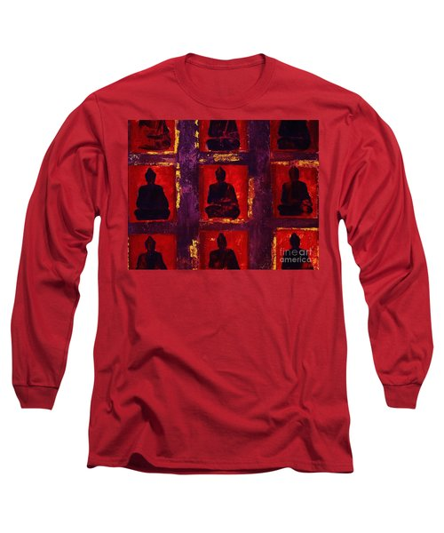 Buddha Surounded Long Sleeve T-Shirt by Craig Wood