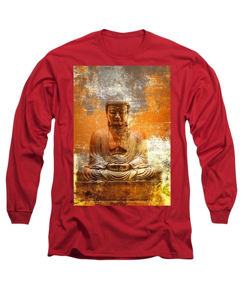 Budha Textures Long Sleeve T-Shirt