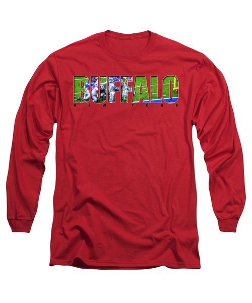 Buffalo Ny Buffalo Bills Long Sleeve T-Shirt