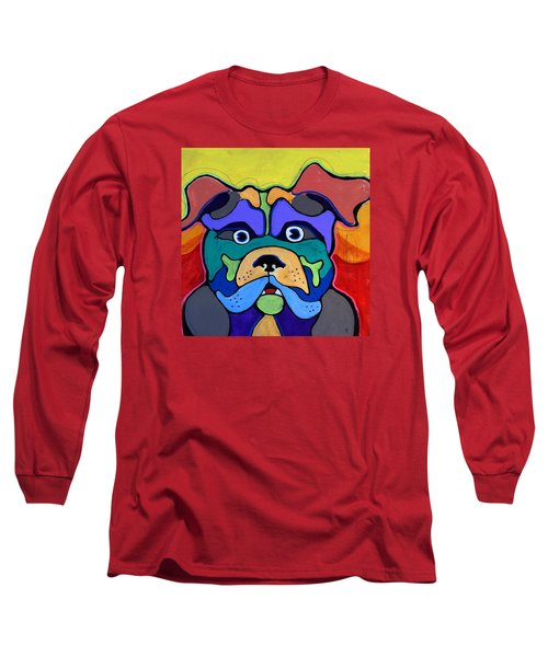 Bull Dog - Don't Give Me Your Lines , And Keep Your Hands To Yourself Long Sleeve T-Shirt