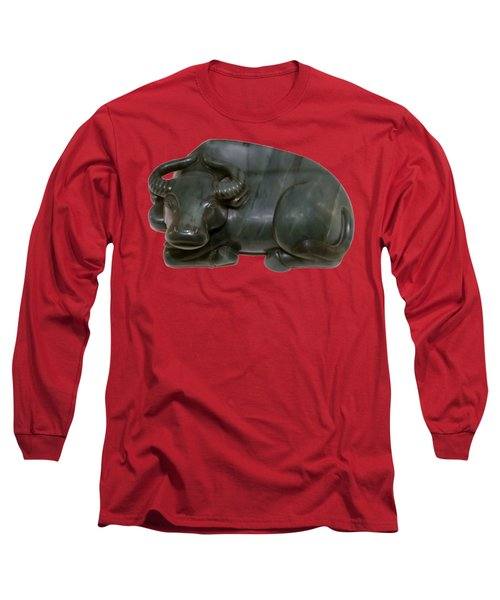 Bull Figure Long Sleeve T-Shirt