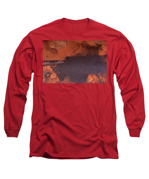 Long Sleeve T-Shirt featuring the photograph Bullfight by Laurie Stewart