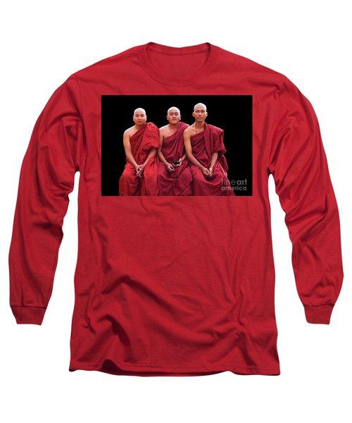 Burma_d1610 Long Sleeve T-Shirt by Craig Lovell