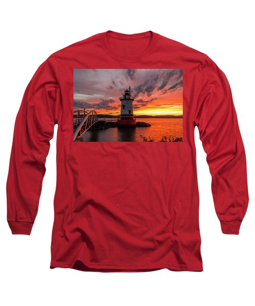 Burn On The Hudson Long Sleeve T-Shirt