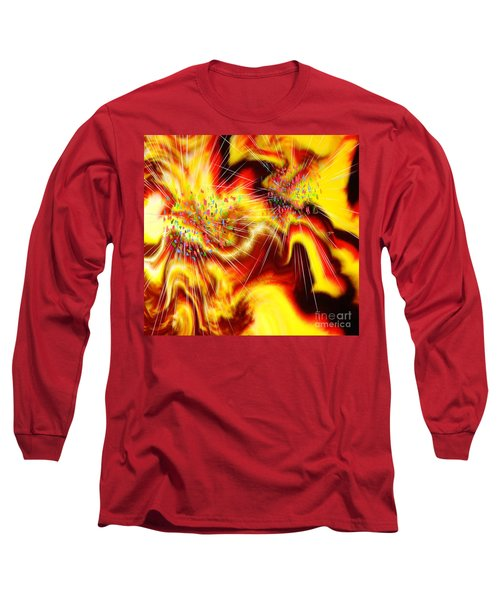 Burst Of Energy Long Sleeve T-Shirt