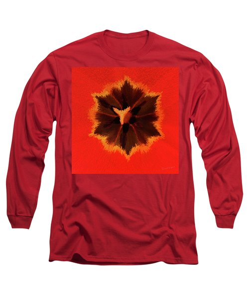 Bursting Long Sleeve T-Shirt by Terri Harper