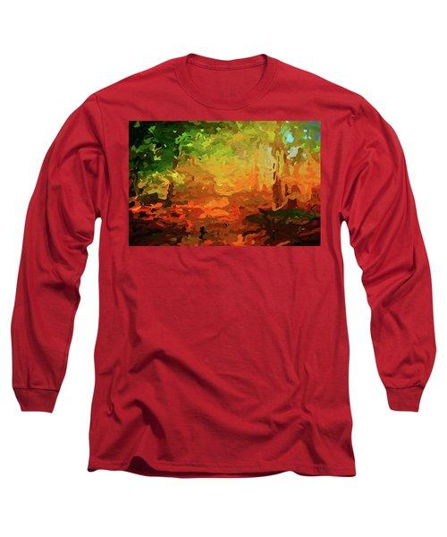 Bush Fire Long Sleeve T-Shirt