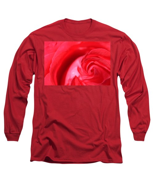 Butler Rose Long Sleeve T-Shirt by Michael McGowan