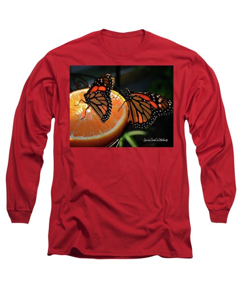 Butterfly Attraction Long Sleeve T-Shirt