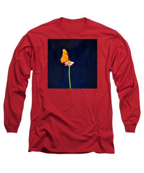Long Sleeve T-Shirt featuring the photograph Butterfly Bloom by Mary Zeman