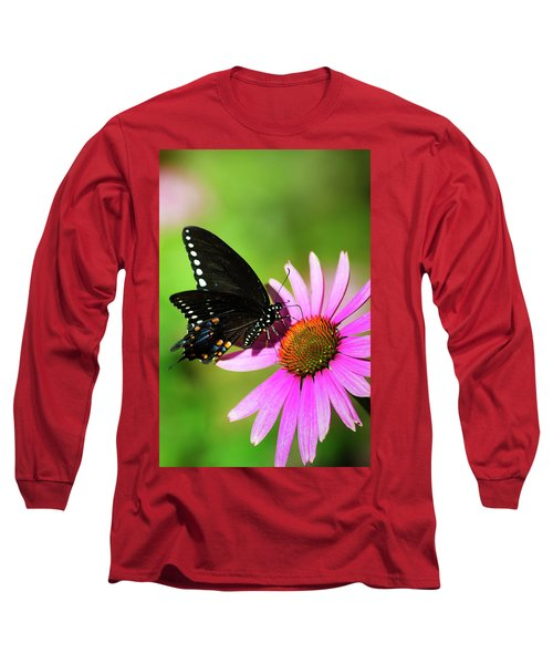 Butterfly In The Sun Long Sleeve T-Shirt