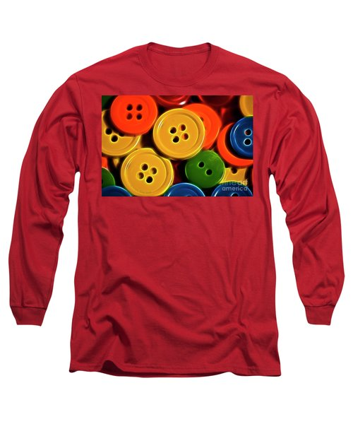 Buttons Long Sleeve T-Shirt
