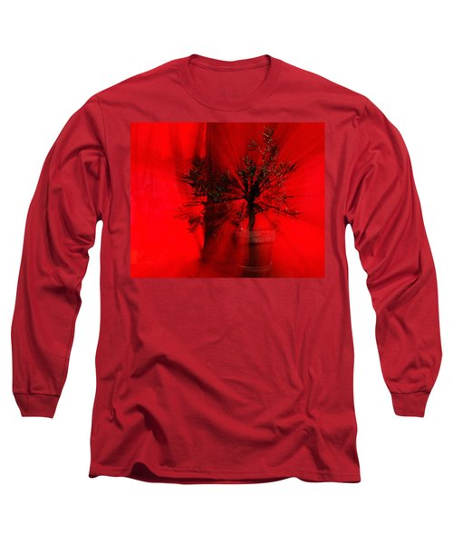Long Sleeve T-Shirt featuring the photograph Cabin Fever Dance by Susan Capuano