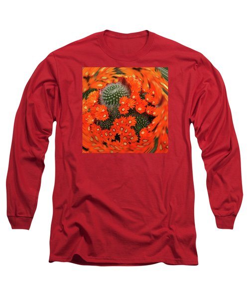 Cactus Swirl Long Sleeve T-Shirt