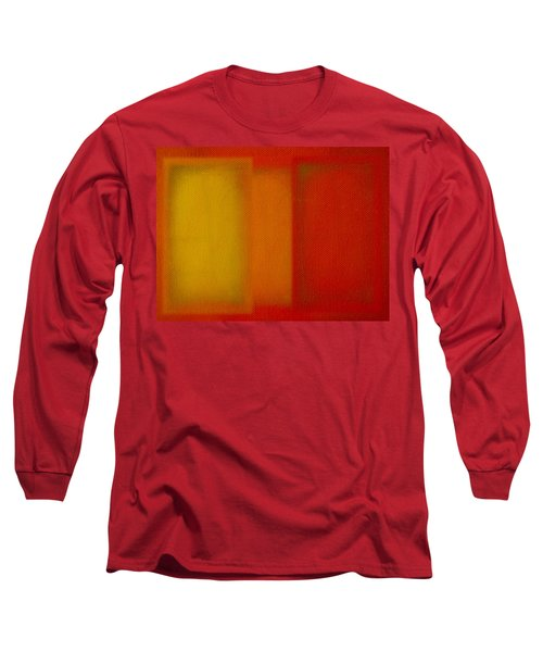 Cadmium Lemon Long Sleeve T-Shirt by Charles Stuart