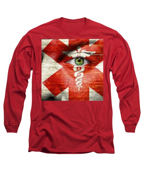Caduceus  Long Sleeve T-Shirt by Semmick Photo