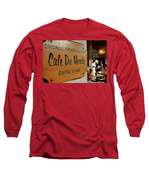 Cafe Du Monde Long Sleeve T-Shirt