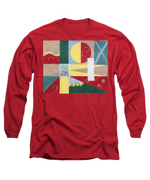 Calm And Chaos Long Sleeve T-Shirt