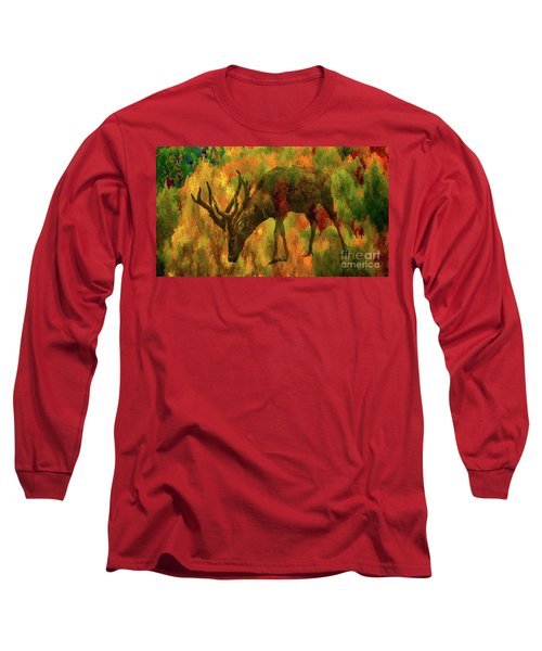 Camouflage Deer Long Sleeve T-Shirt
