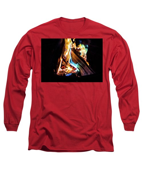 Campfire In July Long Sleeve T-Shirt