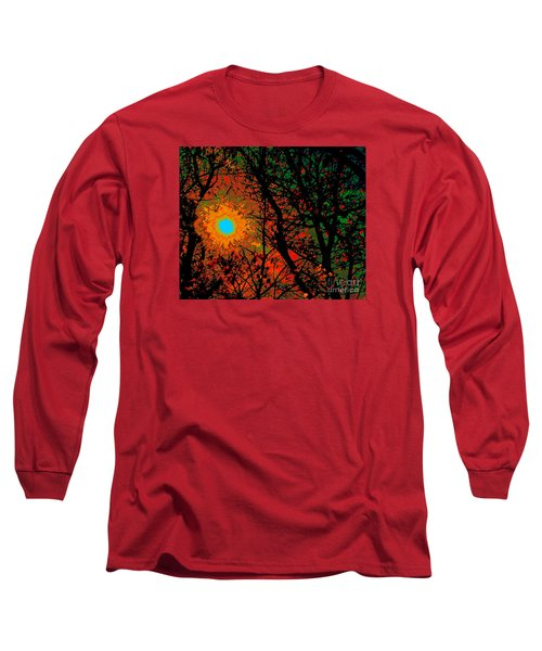 Campfire Sparks Long Sleeve T-Shirt by Jesse Ciazza