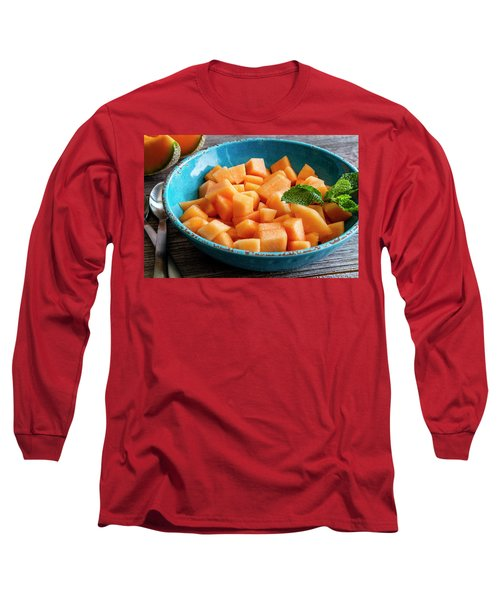 Cantaloupe For Breakfast Long Sleeve T-Shirt