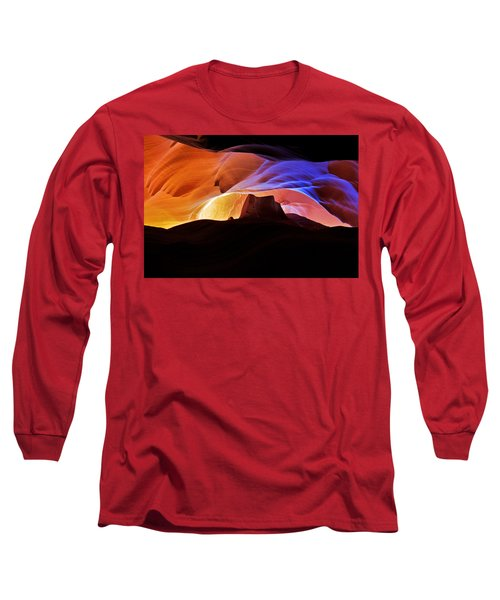 Long Sleeve T-Shirt featuring the photograph Canyon Antelope by Evgeny Vasenev