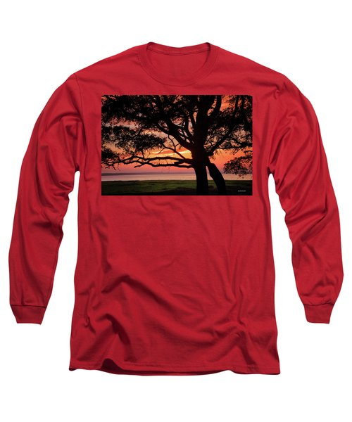 Cape Fear Sunset Overlook Long Sleeve T-Shirt by Phil Mancuso