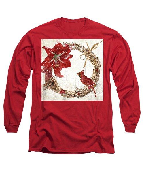 Cardinal Holiday II Long Sleeve T-Shirt