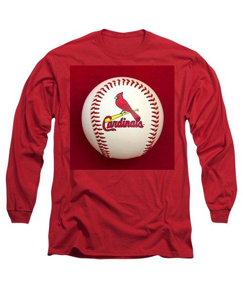 Cardinals Long Sleeve T-Shirt by Steve Stuller