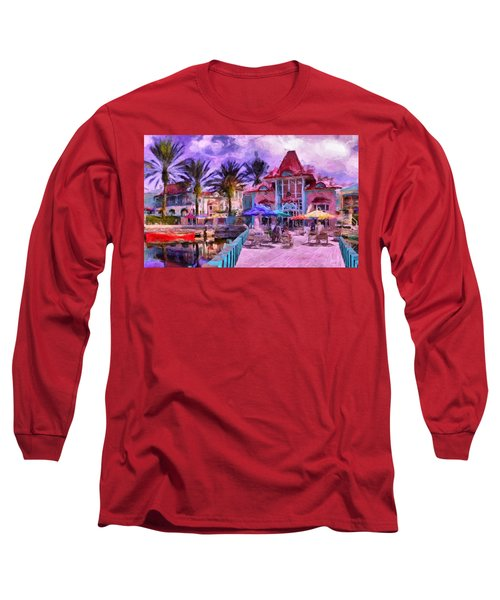Caribbean Beach Resort Long Sleeve T-Shirt