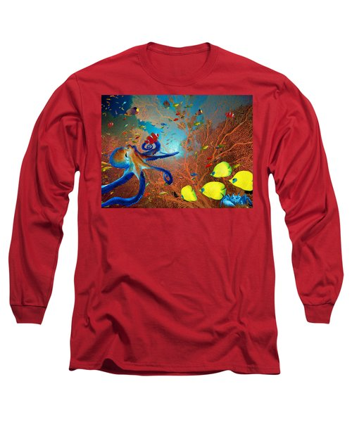 Caribbean Coral Reef Long Sleeve T-Shirt