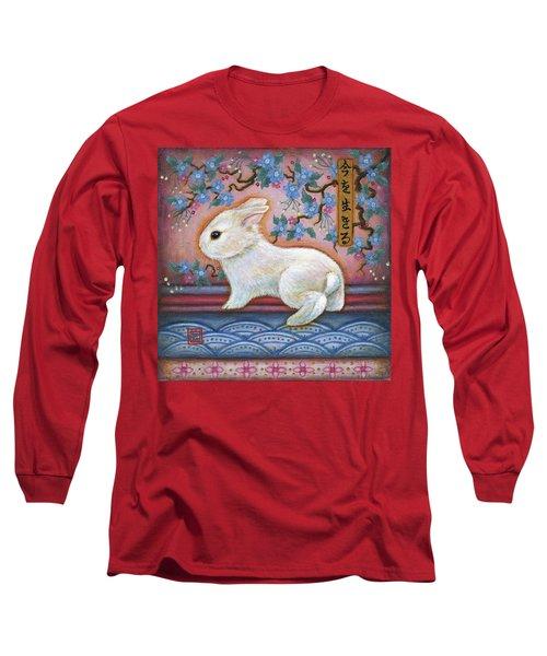 Carpe Diem Rabbit Long Sleeve T-Shirt